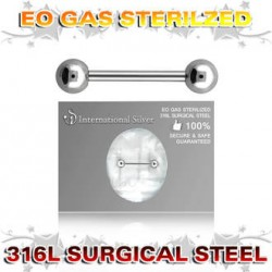 BARBELLS  1,6mm  12 mm STERILE